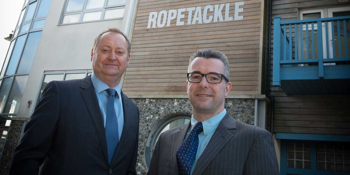 Keith Relf, Keith Bonner - East Sussex's Top IFAs Outside Roptackle Arts Center