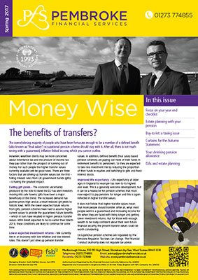 Savings & Investment Advice from Pembroke Financial Services