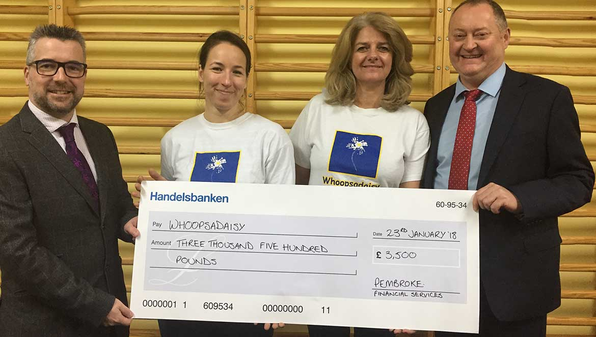 A Helping Hand for Whoopsadaisy from Pembroke Financial Services