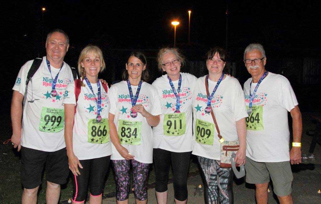 A second successful Midnight Walk for St Barnabas…. and a thank you!