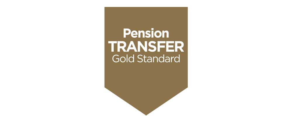 Pension transfer gold standard accreditation logo