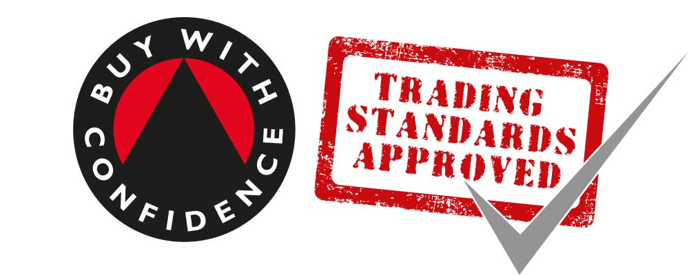 Trading Standards Approved Buy With Confidence Logo Accreditation