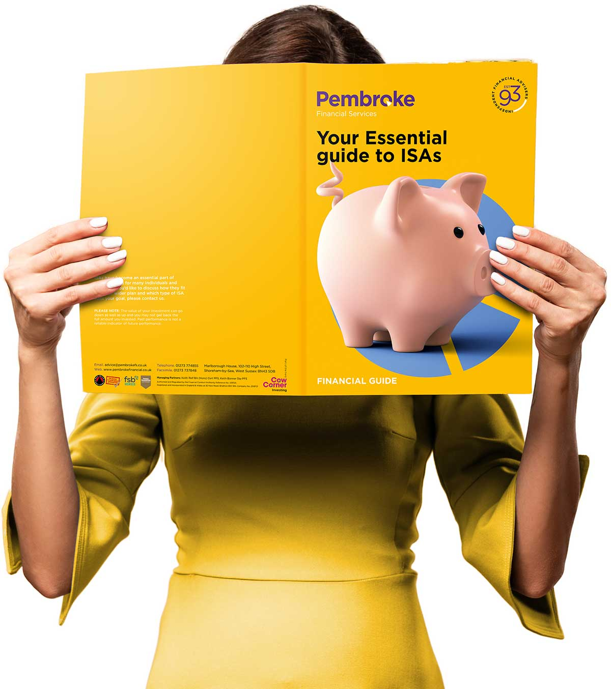 Woman Reading Pembroke Financial Services Financial Guide