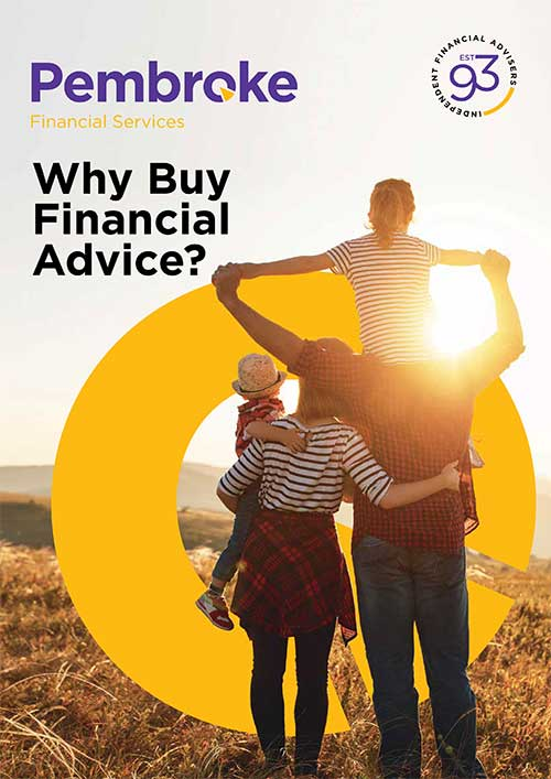 Why buy financial advice guide Pembroke Financial Services Brighton and Hove